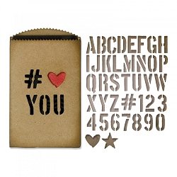 Sizzix - Thinlits Die Set by Tim Holtz - Gift Card Bag