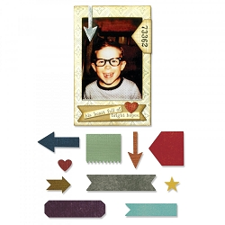 Sizzix - Thinlits Die Set by Tim Holtz - Pocket Frame