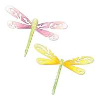 Sizzix - Sizzlits Die - Dragonflies by Scrappy Cat