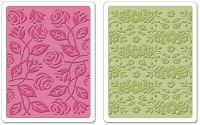 Sizzix - Textured Impressions Embossing Folders 2 PK - Garden Set by Scrappy Cat