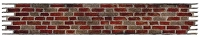 Sizzix Sizzlits Decorative Strip Die - Brick Wall by Tim Holtz