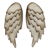Sizzix - Bigz Die by Tim Holtz - Feathered Wings