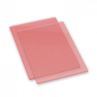 Sizzix Accessory - Replacement Cutting Mats (1 pair) CORAL color