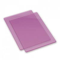 Sizzix Accessory - Replacement Cutting Mats (1 pair) LILAC color