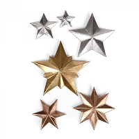Sizzix - Thinlits Die Set by Tim Holtz - Dimensional Stars