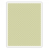 Sizzix - Texture Fades Embossing Folder by Tim Holtz - Tiny Dots