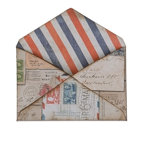Sizzix - Movers & Shapers L Die by Tim Holtz - Envelope (Base Die)
