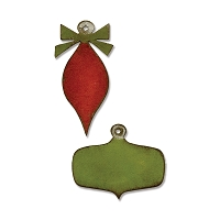 Sizzix - Movers & Shapers Die by Tim Holtz - Mini Retro Ornaments (2 pcs)