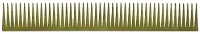 Sizzix Sizzlits - Decorative Strip Die - by Tim Holtz - Tapered Fringe