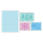 Sizzix Textured Impressions - Happy Winter Set by Rachael Bright