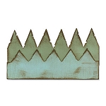 Sizzix On The Edge Die by Tim Holtz - Pennants