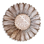 Sizzix Sizzlits by Tim Holtz - Paper Rosette (makes a 2-5/8