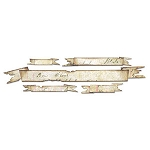 Sizzix Sizzlits by Tim Holtz - Tattered Banners
