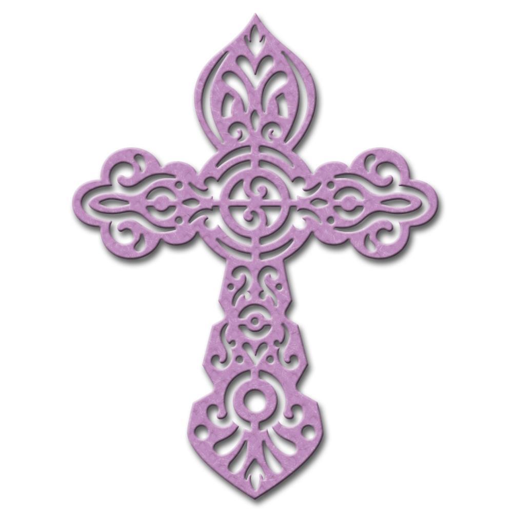 Spellbinders Shapeabilities Die D Lites Crosses 4