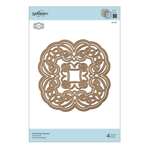 Spellbinders - Designer Die - Flourished Square (by Amazing Paper Grace)
