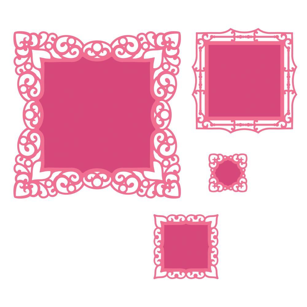 spellbinders nestabilities die labels 42 decorative accents - Decorative Accents