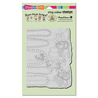 Stampendous - Cling Mounted Rubber Stamp - House Mouse Jewelry Making