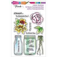 Stampendous Perfectly Clear Stamp - Bouquet For You