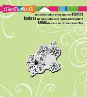 Stampendous Cling Mounted Rubber Stamps - Winter Snow