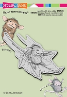 Stampendous Cling Mounted Rubber Stamps - House Mouse Designs - Fall Flight