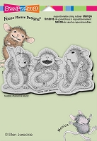 Stampendous Cling Mounted Rubber Stamps - House Mouse Designs - Candy Joy
