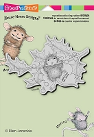 Stampendous Cling Mounted Rubber Stamps - House Mouse Designs - Chin Up