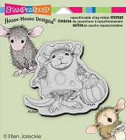 *Stampendous Cling Mounted Rubber Stamps - House Mouse Designs - Trick or Cheese