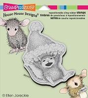Stampendous Cling Mounted Rubber Stamps - House Mouse Designs - Whee Flight