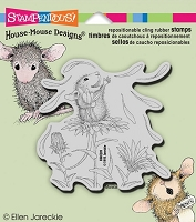 Stampendous Cling Mounted Rubber Stamp - House Mouse - She Loves Me