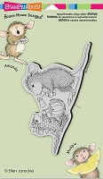 Stampendous Cling Mounted Rubber Stamps - House Mouse Designs - Dino Treats