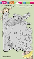 Stampendous Cling Mounted Rubber Stamps - House Mouse Designs - Reindeer Games