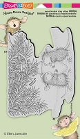 Stampendous Cling Mounted Rubber Stamps - House Mouse Designs - Paws To Warm