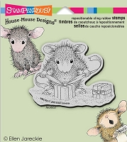 Stampendous Cling Mounted Rubber Stamps - House Mouse Designs - Gifts to Tie