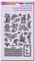 Stampendous Perfectly Clear Stamp - Christmas Charms