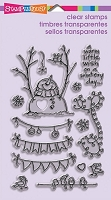 Stampendous Perfectly Clear Stamp - Snowman Banners