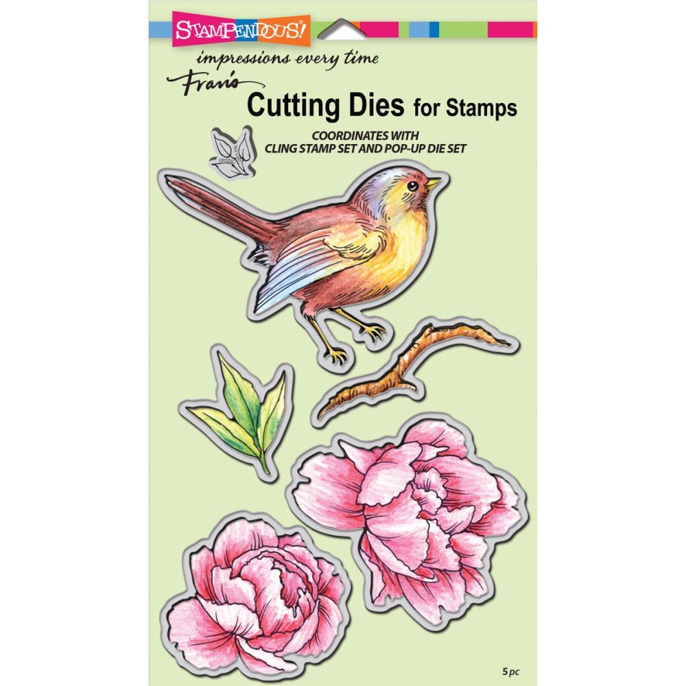 Stampendous Cutting Die Bird Blossom Die Cut Set