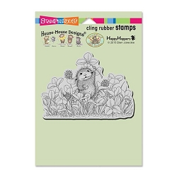 Stampendous Cling Mounted Rubber Stamps - House Mouse Designs - Lucky Clover Rubber Stamp