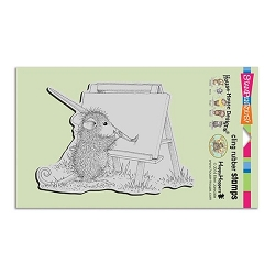Stampendous Cling Mounted Rubber Stamps - House Mouse Designs - Outdoor Painter Rubber Stamp