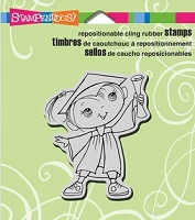 Stampendous Cling Mounted Rubber Stamp - Graduation Kiddo