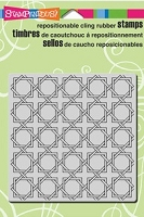 Stampendous Cling Mounted Rubber Stamp - Rattan Weave