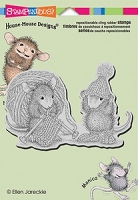 Stampendous Cling Mounted Rubber Stamp - Knit Gift
