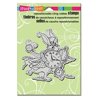 Stampendous Cling Mounted Rubber Stamps - Hare In A Hurry