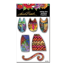 Stampendous - Laurel Burch - Tribal Cats Cutting Die Set