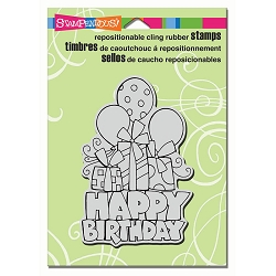 Stampendous Cling Mounted Rubber Stamps - Chunky Birthday