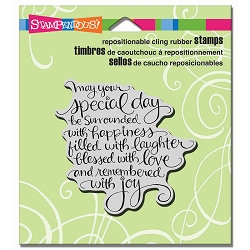 Stampendous Cling Mounted Rubber Stamps - Special Day