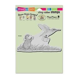 Stampendous Cling Mounted Rubber Stamps - House Mouse Designs - Carrier Hummer