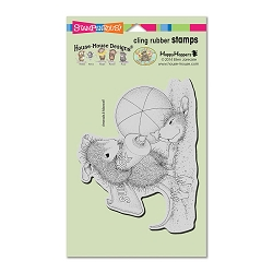 Stampendous Cling Mounted Rubber Stamps - House Mouse Designs - Sunblock Squirt