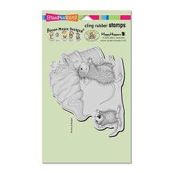 Stampendous Cling Mounted Rubber Stamps - House Mouse Designs - Soft Serve Spill