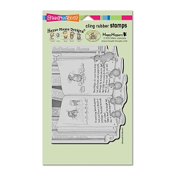 Stampendous Cling Mounted Rubber Stamps - House Mouse Designs - Mudpie Tale