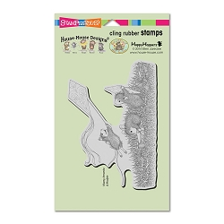 Stampendous Cling Mounted Rubber Stamps - House Mouse Designs - Kite Flight